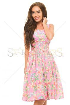 PrettyGirl Heat Pink Dress
