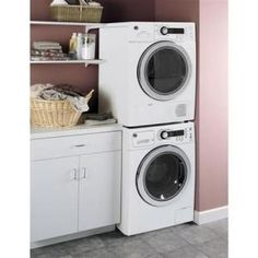 For the kitchen. GE, 2.2 cu. ft. DOE Front Load Washer in White, WCVH4800KWW at The Home Depot - Mobile
