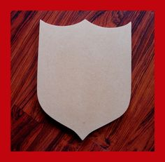 Unfinished Mdf Wood Shield/Blank Family Crest/Mosaic by zzbob, $8.00