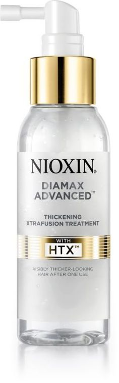 Nioxin Diamax Advanced Treatment increases the diameter of each hair strand, so its like having 11,000 additional hair strands instantly..