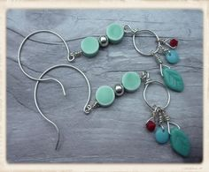 Southwestern earrings long boho earrings boho by catchmearainbow
