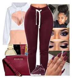 """""""Untitled #508"""" by issaxmonea ❤ liked on Polyvore featuring Topshop and NIKE"""