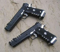 """Very Cool Punisher 1911 Pistols"""