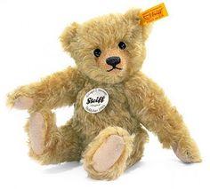 Steiff Classic 1905 Mohair Brass Teddy Bear 004858 #Steiff