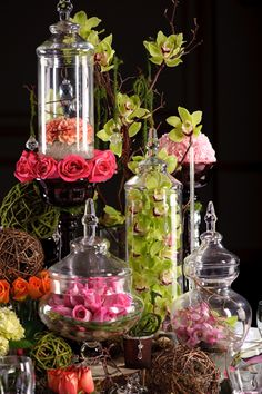 wedding jars.