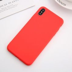 Soft Silicone Pastel Colors Phone Cases For iPhone X XS Max Back Cover Cases – i-Phonecases.com Iphone 6, Iphone 8 Plus, Iphone Cases, Mobile Phone Cases, Iphone Models, Pastel Colors, Phone Accessories, Apple Watch, Retro Vintage