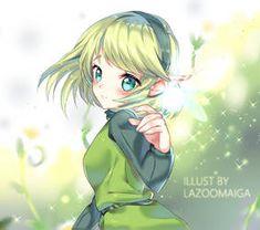 Legend of Zelda Ocarina of Time art > Saria Ben Drowned, Saria Zelda, Link Zelda, Princesa Zelda, Ocarina Of Times, Link Art, Legend Of Zelda Breath, Cute Anime Pics, Awesome Anime