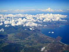 Plane view over Lombok Indonesia. One thing awesome about flying to Labuan Bajo in Flores is the spectacular plane views. Sitting at either side of the place will allow you to see beautiful landscapes of islands mountains and sea.  And on a clear day you can photograph some amazing plane views from your window seat like this one. Many travellers will choose to sleep during the flight but for me these stunning views are not to be missed. . . . . #planeview #windowseat #aerialview…