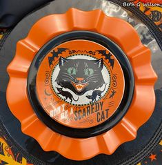 Home Depot Online, Tablescapes, Table Settings, Vintage Fashion, Pumpkin, Plates, Halloween, Black, Style