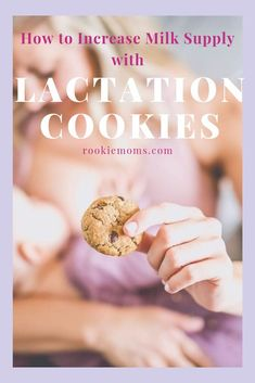 How to Use Lactation Cookies to Increase Milk Supply! Breastfeeding isn't always easy. Sometimes, your milk doesn't come in or seems to be decreasing. Lactation cookies can help to increase milk supply. Stopping Breastfeeding, Breastfeeding Support, Breastfeeding And Pumping, Breastfeeding Cookies, Low Milk Supply, Increase Milk Supply, Lactation Recipes, Lactation Cookies, Baby Rolling Over