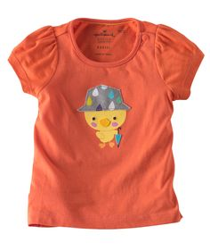 She'll love this ducky top with cute rainy day design. Available in 100% cotton by Hallmarkbaby.com.