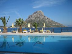 Amazing View @ Telendos island by the pool