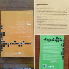 Apresentamos uma obra publicada por um ex-formando da PG Lean Management, o Eng João Moura (EDP), que muito nos honra pela dedicação. Um livro que recomendamos para quem quer melhorar os seus conhecimentos como Lean Leader (Sensei).  http://www.sitiodolivro.pt/pt/livro/desenvolver-pessoas-lean-numa-organizacao-de-servicos/9789898714770/