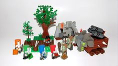 Castle Crasher Lego set