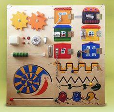 Детский бизиборд для детей своими руками Children's bizybord for children with their own hands