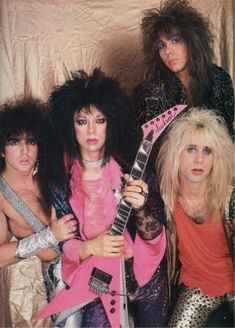 Vinnie Vincent, Glam Metal, Kiss Band, Hot Band, Glam Hair, Black Sabbath, Def Leppard, Aerosmith, Led Zeppelin