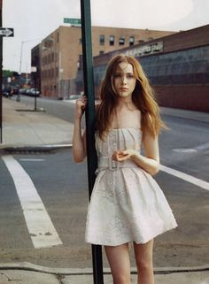 strapless dress | Fashion Portrait Photography | ~F.