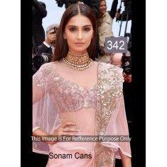 Bollywood Replica - sonam Cans Lehenga Choli - 342(DF-534)