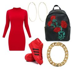 Designer Clothes, Shoes & Bags for Women School Ootd, School Outfits, Magda Butrym, Winter Outfits, Adidas, Shoe Bag, Polyvore, Pictures, Closet