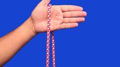 Nudo de mariposa paso 1 Macrame, Camping, Hair Styles, Beauty, Sailor Knot, Knots, How To Make, Campsite, Hair Plait Styles