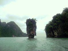 James Bond Island, also known as Ko Tapu. Ao Phang Nga National Park, Thailand  Gotta Bad Case of Krabi & LovinIt!