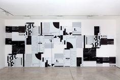 Michael Riedel, galerie Michel Rein, 2012