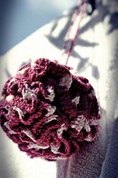 llllll Filet Crochet, Knit Crochet, Diy And Crafts, Creations, Blog, Knitting, Pull, Bath Sponges, Flower Template