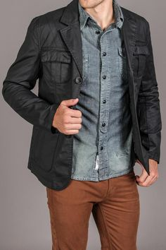 Twice 3-Button Jacket - Jack Threads