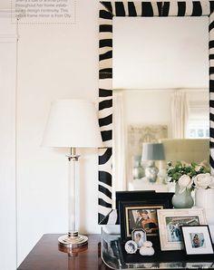 zebra mirror via #lonnymag
