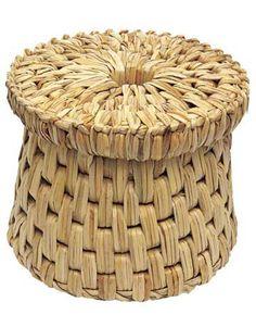 wicker stool
