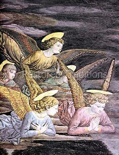 A Choir of Angels - Gozzoli
