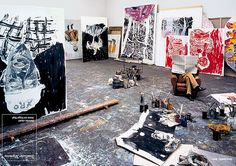 Basquiat  Painting...and more painting space