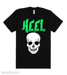 The Heel | The Heel.  We all need bad guys. With no heels, the baby faces would have no reason to show their pretty faces. #Skreened
