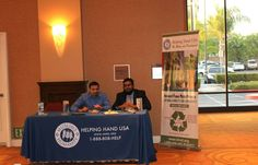 Helping Hand USA booth  at ICNA SoCal 9th Annual Banquet.