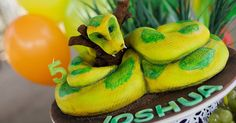 Snake + Reptile Birthday Party