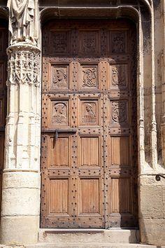 France, Aveyron, Saint-Côme-d'Olt Chapelle, France, Cathedrals, Pilgrim, Arches, Saint, Gates, Castle, Windows