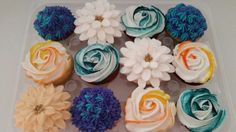 Amy's Crazy Cakes - Flower Cupcakes