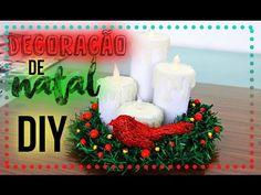 Passo a passo enfeites de Natal de feltro | Sarah Silva | - YouTube