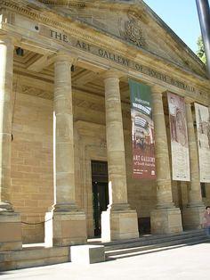 Art Gallery of South Australia, Adelaide: dapur tersembunyi dan jalan rahasia!