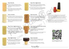 Have you ever wondered what is the difference between all types of cork stoppers? Don´t miss PortugaliaCork brochure!