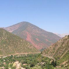 Atlas Mountains in Setti-Fatma, Marrakech-Tensift-El Haouz
