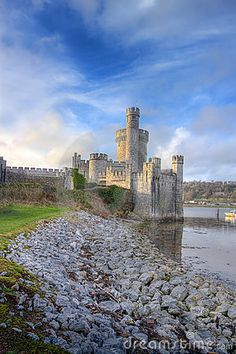 Blackrock Castle on the banks of the river. Cork city, Ireland.