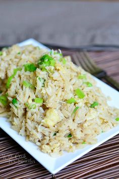 Crab Fried Rice from willcookforsmiles.com