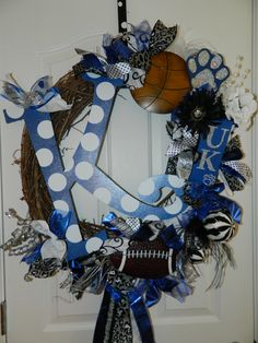Kentucky wreath