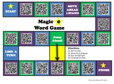 QR CODE GAME BOARDS could easily be adapted to other content areas and even a PD setting.