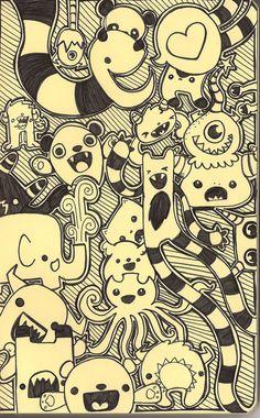 #Draw #Monster #Moleskine  No hay más dibujos en la website