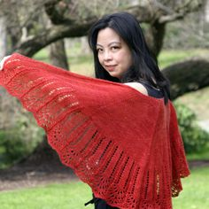 Weekend Shawl by Anne Kuo Lukito