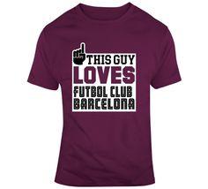 Futbol Club Barcelona T Shirt Barcelona T Shirt, Shirt Style, Club, Sports, Mens Tops, How To Make, Cotton, Stuff To Buy, Fashion