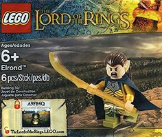 LEGO Lord of the Rings Elrond Exclusive Minifigure 5000202 *** Want additional info? Click on the image.