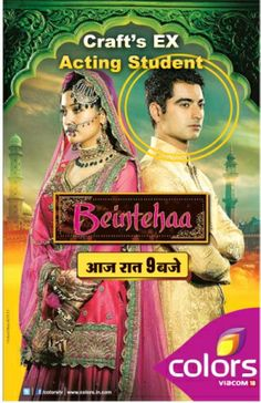 Harshad Arora our Ex Acting Student in lead role of Zain in Beintahaa(Monday to Friday) on Colors TV at 9:00 pm #harshadarora #actingschool #bestactingcourses #beintihaserial #actinginstitute #actingauditions #actingcourse